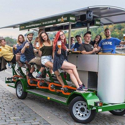 Beer Bike Prague
