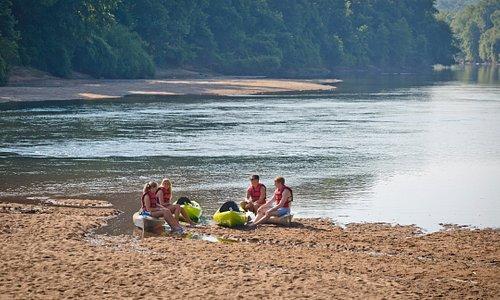 Kayak the Oconee River Greenway