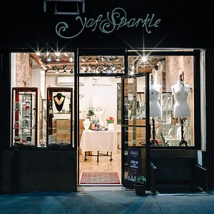Yaf Sparkle Fine Jewelry Boutique on Broome and Orchard in the Lower East Side