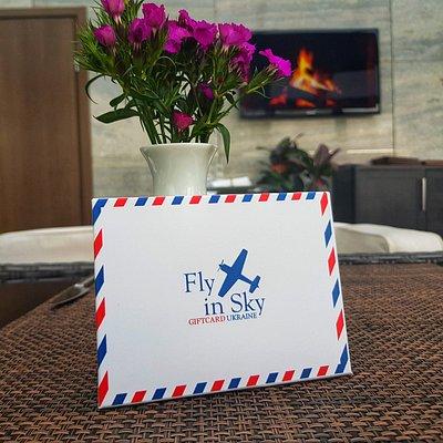 Подарочные сертификат на полет - подарок, который порадует всех
