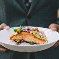 Seared Norwegian Salmon