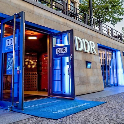 Eingang des DDR Museum