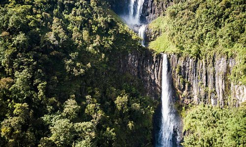Waterfalls in the Aberdare National Park