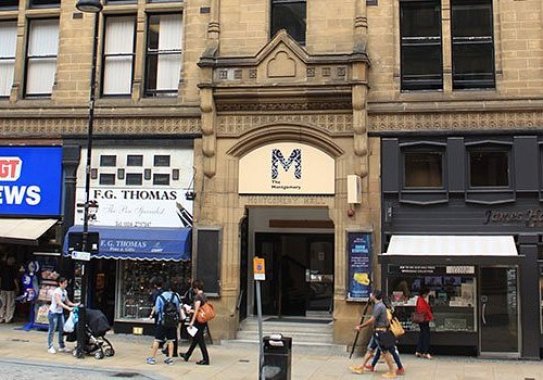 Our main entrance is located between the pen shop and the jewellery shop on Surrey Street.