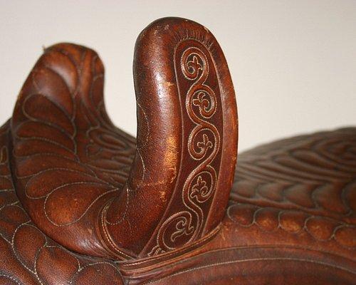 Queen Victoria's saddle.