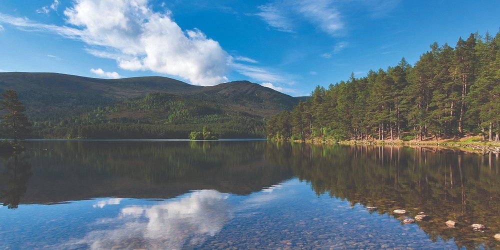 Loch an Eilein in summer