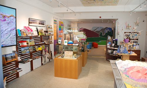 In our VC you'll find a friendly atmosphere packed with lots of info about the local geology.