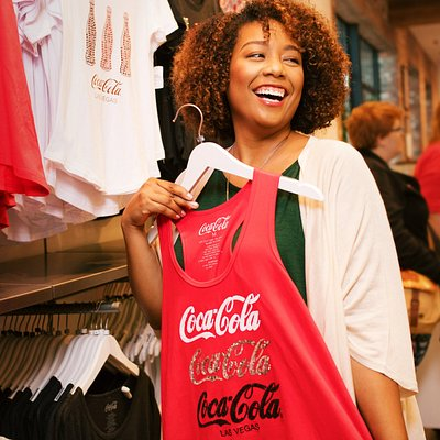 Discover exclusive Coca-Cola Las Vegas merchandise at Coca-Cola Store Las Vegas.