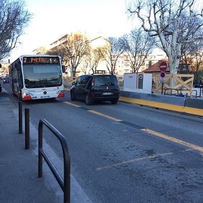 Ligne 7 aix en bus