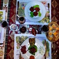Table chez Anouche