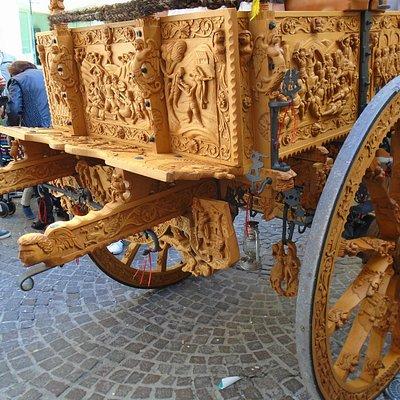 sfilata di carretti siciliani
