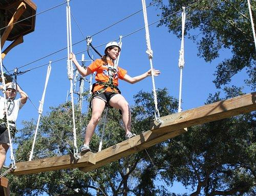 Fun filled at Wild Blue Ropes Adventure Park Charleston