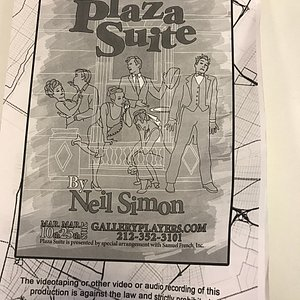 Gallery Players - Plaza Suite