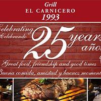Celebramos nuestro 25 aniversario - We celebrate our 25th anniversary