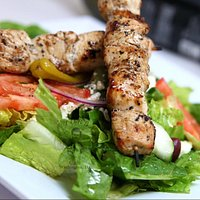 Zorba's Café customer favorite - Aegean Salad