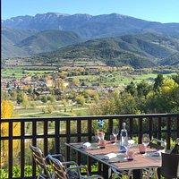 Vista desde la Terraza del Restaurante Katia