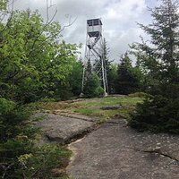 Fire Tower on Owls Head Mountain