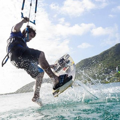 Kite Trip Grenadines provides top quality lessons and a great experience. All levels are welcome
