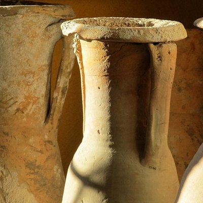 Anfore di età romana provenienti dal relitto di Chiessi