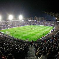Estadio Ciutat de València un día de partido