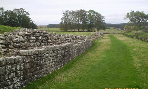 To think, Roman soldiers walked these walls.