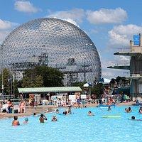 Piscines du Complexe aquatique du parc Jean-Drapeau