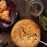 Chicken Pot Pie 3 Course Combo