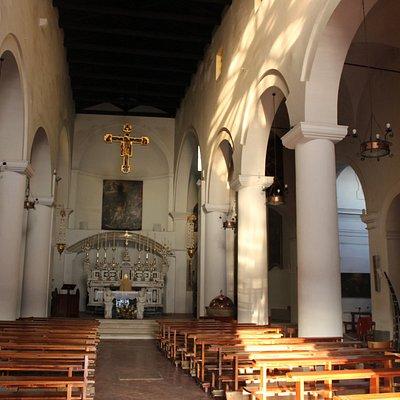 interno chiesa di San Lorenzo