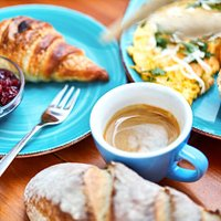 10 types of breakfast served daily from 8 till 14