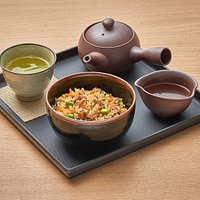 Organic Sencha with Takikomi Gohan Fried Rice