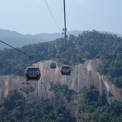 巴拿山吊車