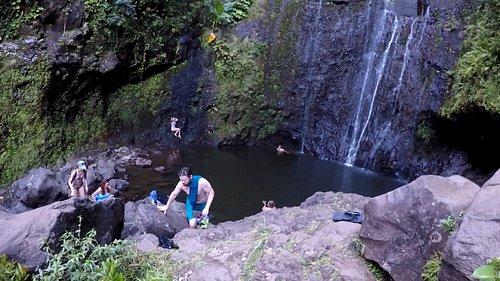 Wailua falls pool