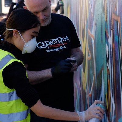 street art class spectrum arts