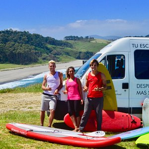 Alma Surf School es una empresa familiar propiedad de Surfistas