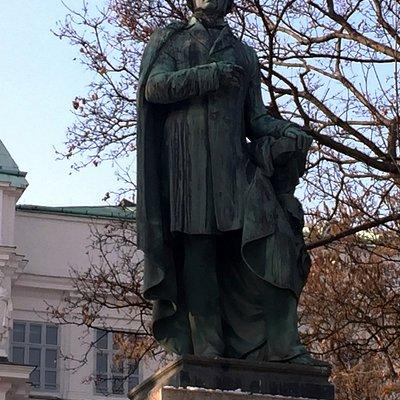 Ressel Statue at Resselpark