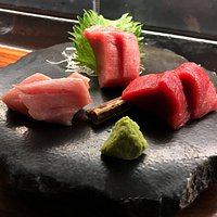 3 Kinds of Blue Fin Sashimi (2 pieces of fish per order)