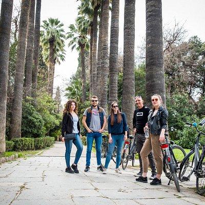 fietstour Athene maart 2018