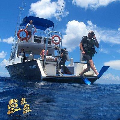 The boat SCUBA DU II
