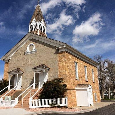 Old Rock Church Museum, Parowan, Utah