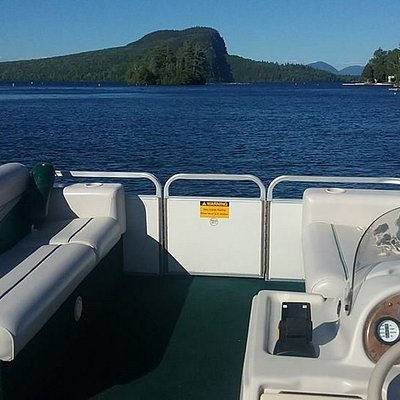 Traveling down the Moose River into Moosehead Lake