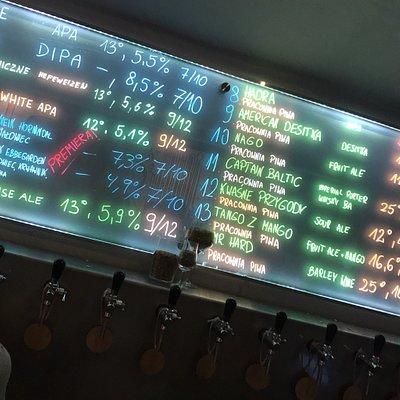22 krany, świetny wybór piw