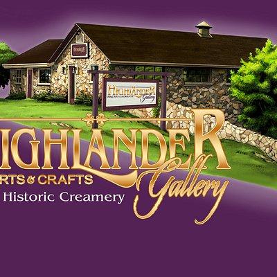 Highlander Gallery in the Historic Creamery