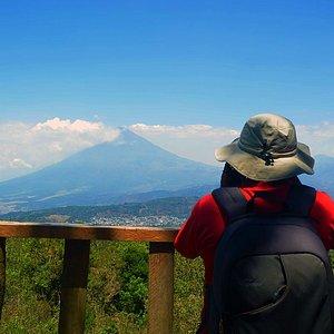 Pacaya volcano day tour.