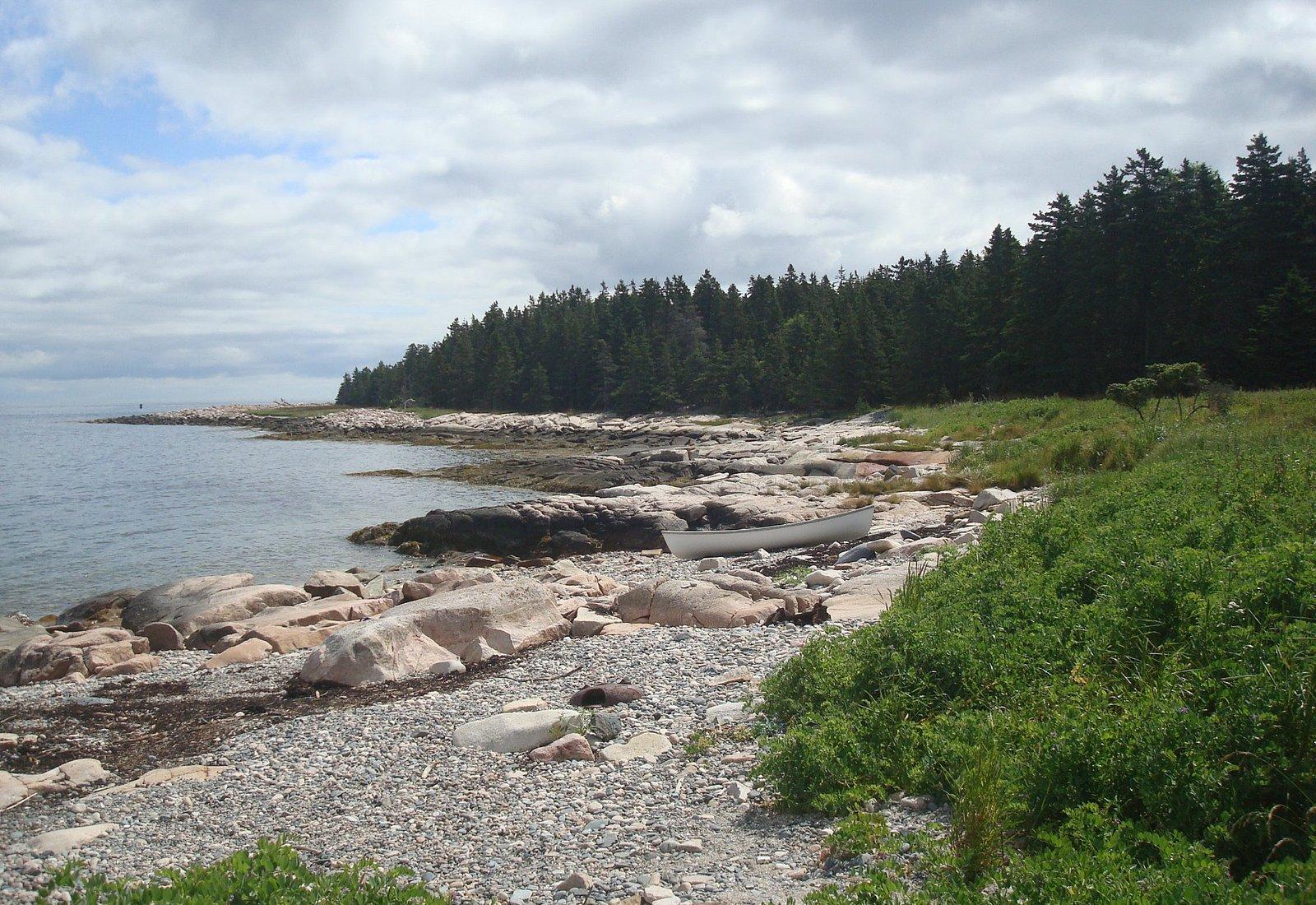 Baker Island Shoreline