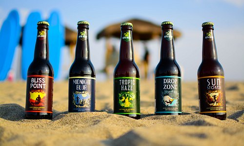 Nipa Brew's line of craft beers