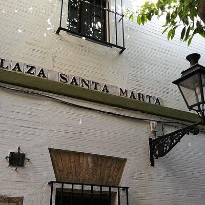 Plaza de santa Marta.