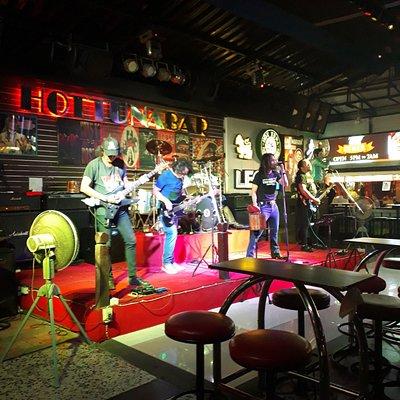 The band at Hot Tuna
