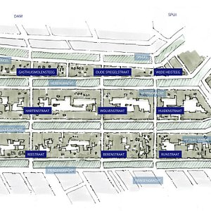 Layout of the Nine Streets