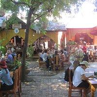 Queen restaurant Bagan Myanmar