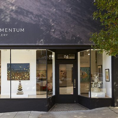 Welcome to Momentum Gallery, located at 24 N Lexington Avenue in Downtown Asheville